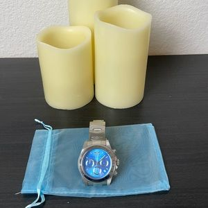 Invicta Blue Dial Stainless Steel Woman's Watch